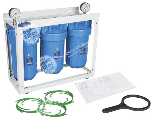 "Aquafilter 3 x BigBlue 10"" (HHBB10B)"